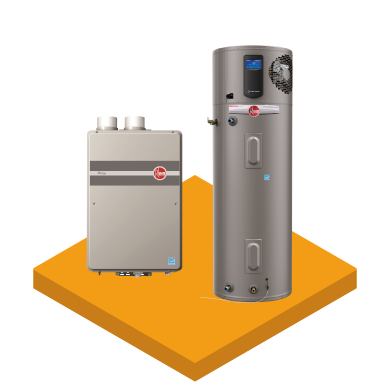 Rheem Tank & Tankless Water Heaters